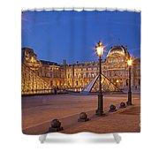 Louvre Twilight Shower Curtain