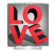 Love 2 Shower Curtain