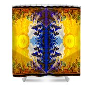 Love And Loss Abstract Healing Artwork Shower Curtain