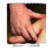 Love At First Touch Shower Curtain