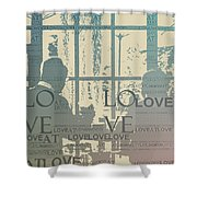 Love At Longwood Shower Curtain