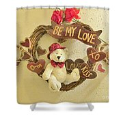 Love Be My Love Shower Curtain