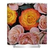 Love Bouquet Shower Curtain
