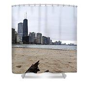 Love Chicago Shower Curtain