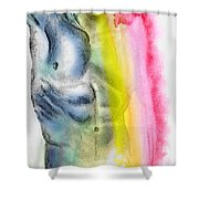 Love Colors - 4 Shower Curtain