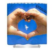 Love Eternally.... Shower Curtain