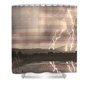 Love For Country Shower Curtain