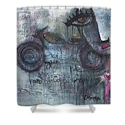 Love For Motorcycles Shower Curtain