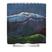 Love For Pikes Peak Shower Curtain