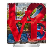 Love In City Park New Orleans Shower Curtain