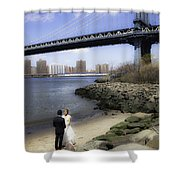 Love In The Afternoon - Dumbo Shower Curtain