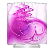 Love In The Details Shower Curtain