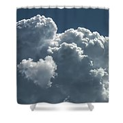 Love In The Sky Shower Curtain