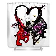 Love Is All Arround Shower Curtain