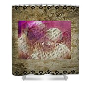 Love Is Forever Shower Curtain