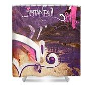 Love Istanbul 02 Shower Curtain