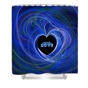 Love - Love - Love Shower Curtain