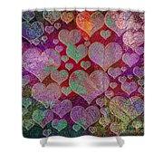 Love... Love... Love Shower Curtain