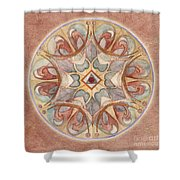 Love Mandala Shower Curtain