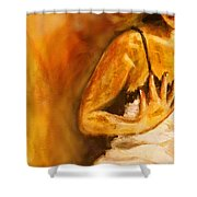 Love Me Now - Closer Shower Curtain