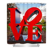 Love New Orleans  Shower Curtain