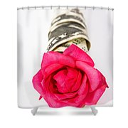 Love Of Money Shower Curtain