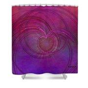 Love Of The Universe Shower Curtain