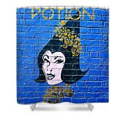 Love Potion Diagon Alley Shower Curtain