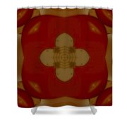 Love Receiver Shower Curtain