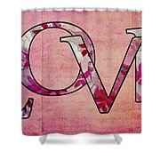 Love - S0103t Shower Curtain