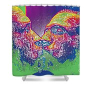 Love Self Evident Aka Portrait Of Flap Jack Stevens Shower Curtain