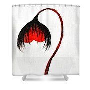Love Story Ill The End Shower Curtain