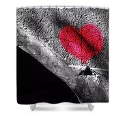 Love Under The Bridge Shower Curtain