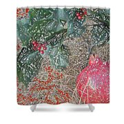 Love You Forever Shower Curtain by Feile Case