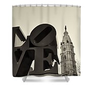 Love You Too Shower Curtain