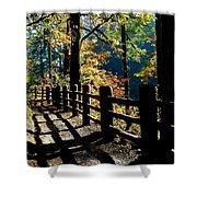 Lovely Day For Hike Shower Curtain