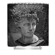 Lovely Lady Bw Shower Curtain