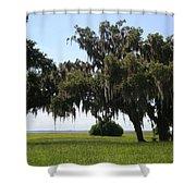 Lovely Landscape Shower Curtain