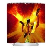 Lovely Lily Stargazer Shower Curtain