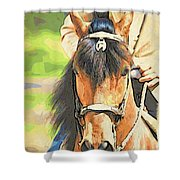 Lovely Paso Shower Curtain
