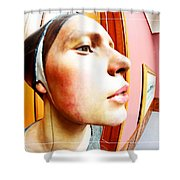 Lovely Profile Shower Curtain