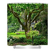 Lovely Suburban Front Yard Shower Curtain
