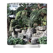 Lovely View Inside The Opryland Hotel In Nashville Tennessee 2009 Shower Curtain
