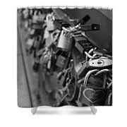Lovers Crossing Shower Curtain