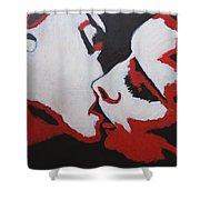 Lovers - Kiss 8 Shower Curtain
