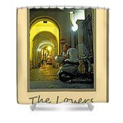 Lovers Sorrento Italy Shower Curtain
