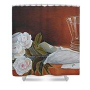 Loves Bouquet Shower Curtain