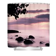 Lovina Sunset - Bali Shower Curtain