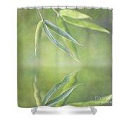 Loving Greens I Shower Curtain
