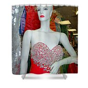 Low Cut Lucy Shower Curtain